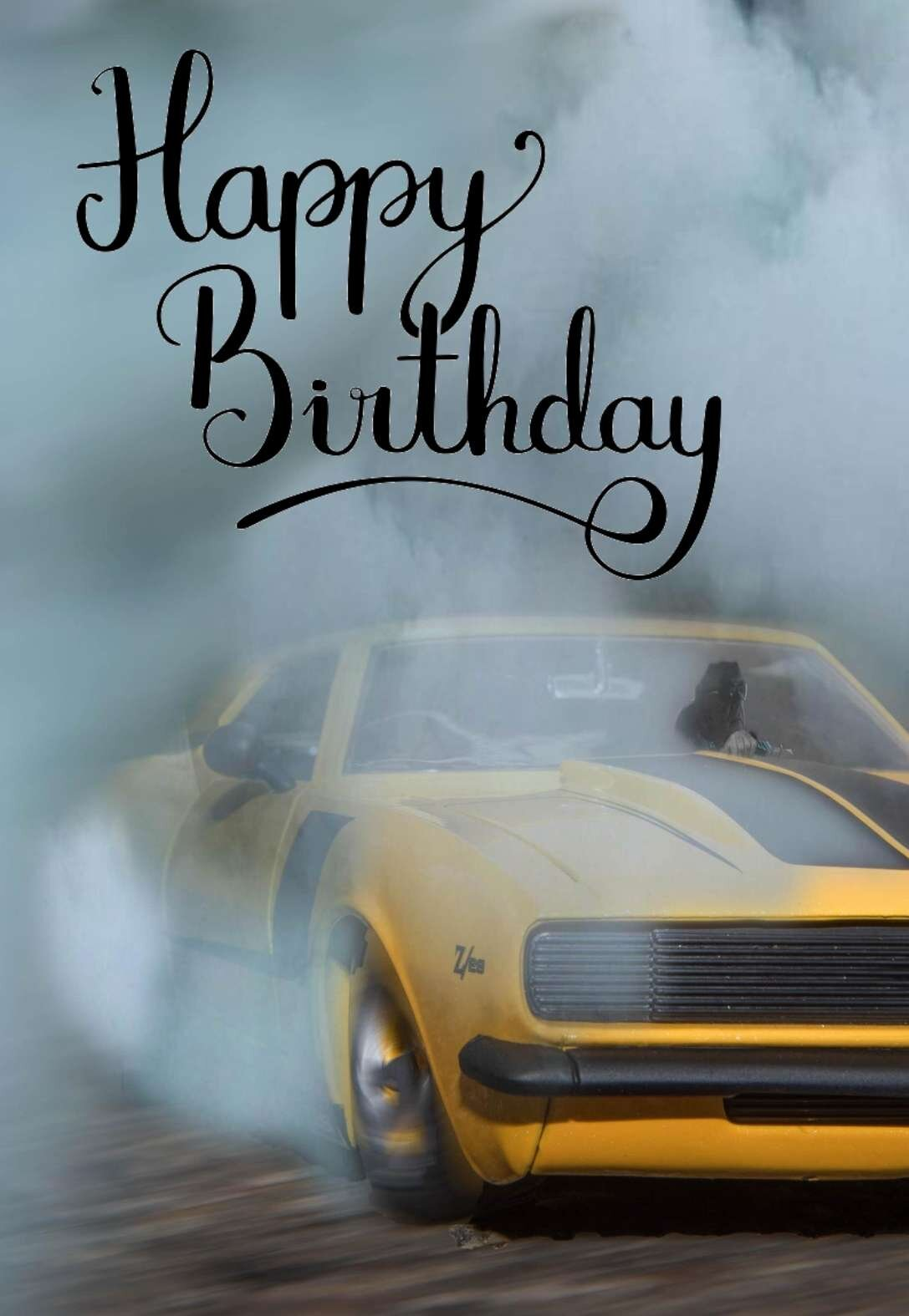 Car Enthusiast Birthday Cards Printbirthday Cards