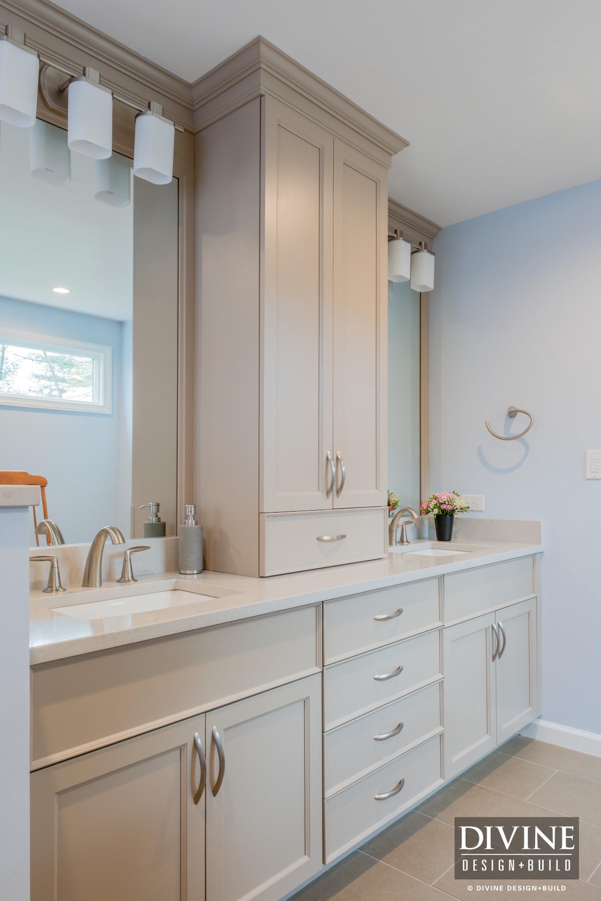 Boston Metrowest Transitional Master Bath Suite Divine Design Build