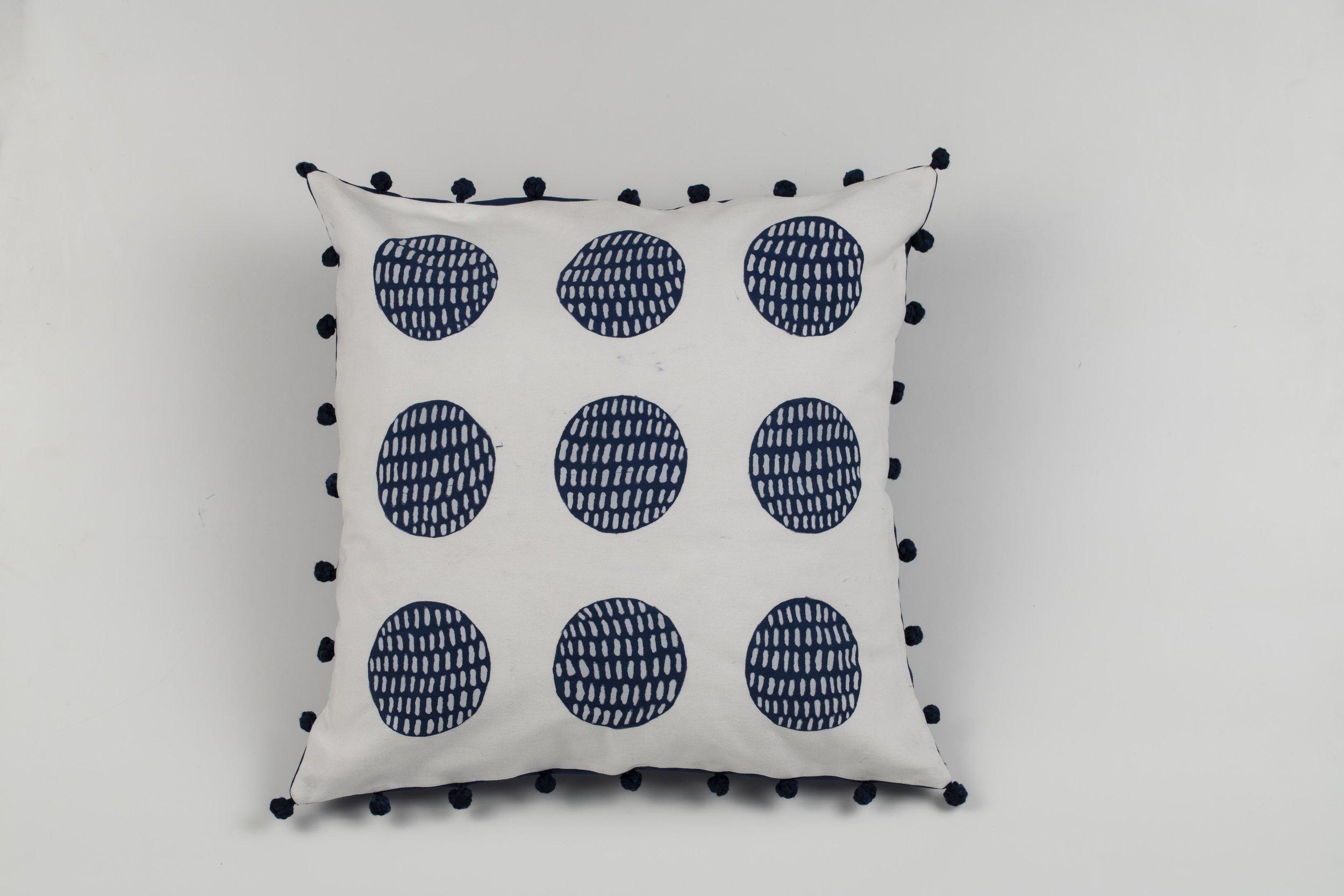 gifft indigo tassel pillow covers throw pillow