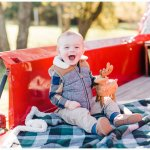 3rd Annual Christmas Vintage Truck Mini Sessions Sherman Texas Wedding Photographer In Dallas Gingersnap Studios