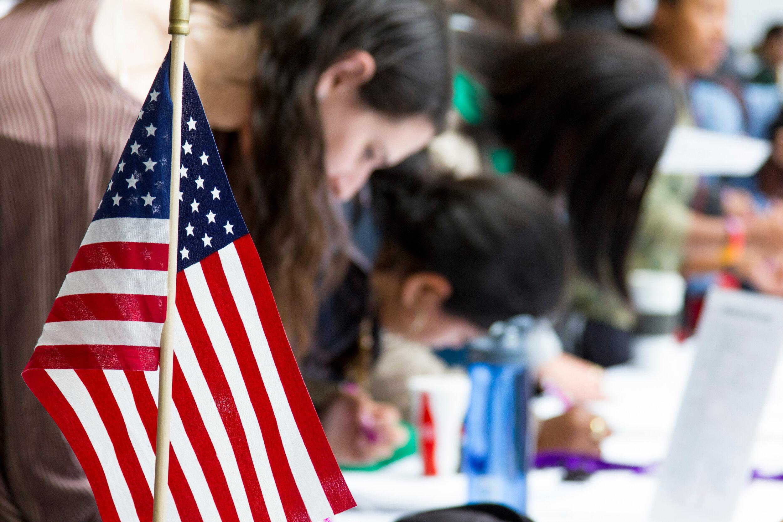 UAlbanyVotesAmericanFlag&Signups.jpg