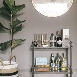 Bar Carts Ultimate Guide To Styling And Stocking Your At Home Bar Claire Heffer Design