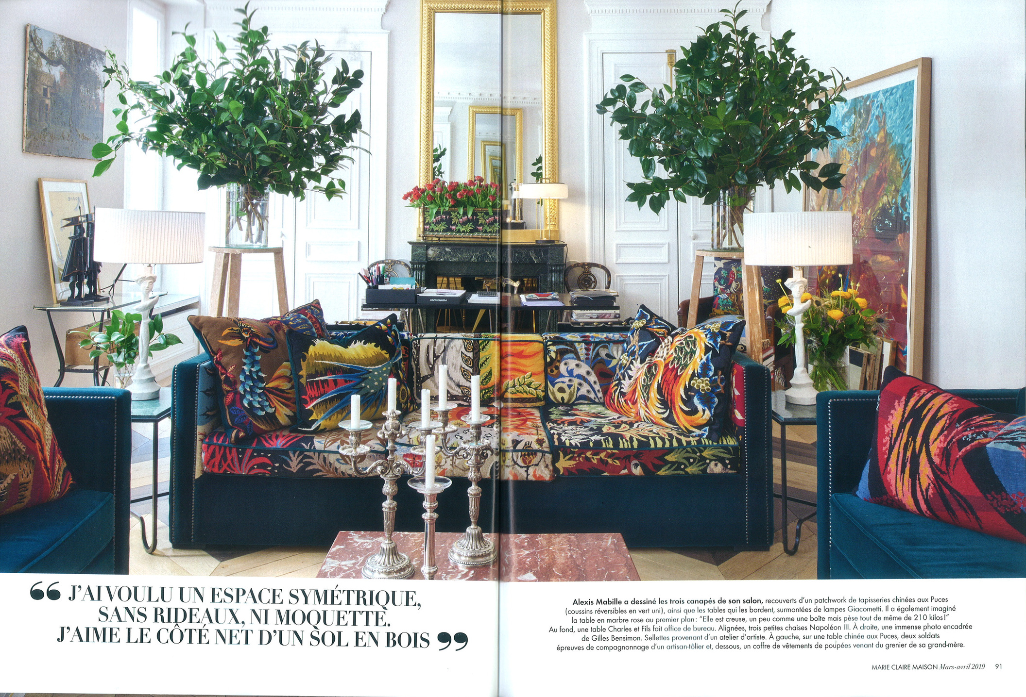 marie claire maison march 19 beaubow