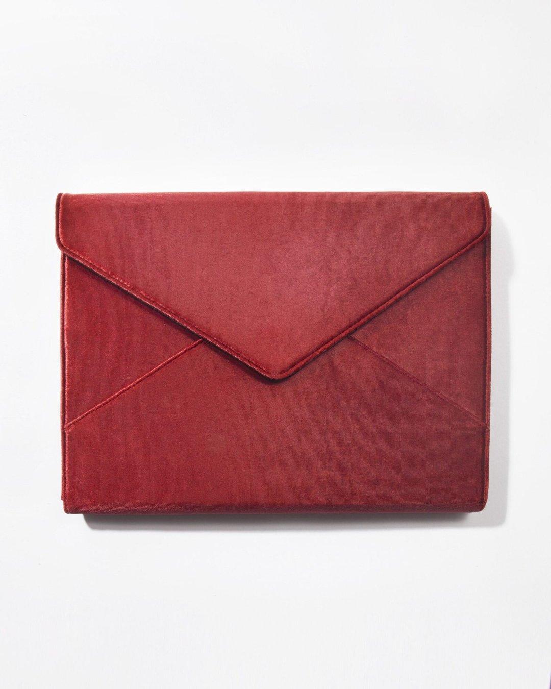 Sonix Velvet 13-inch laptop clutch