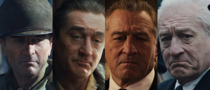 Image result for the irishman visual effects