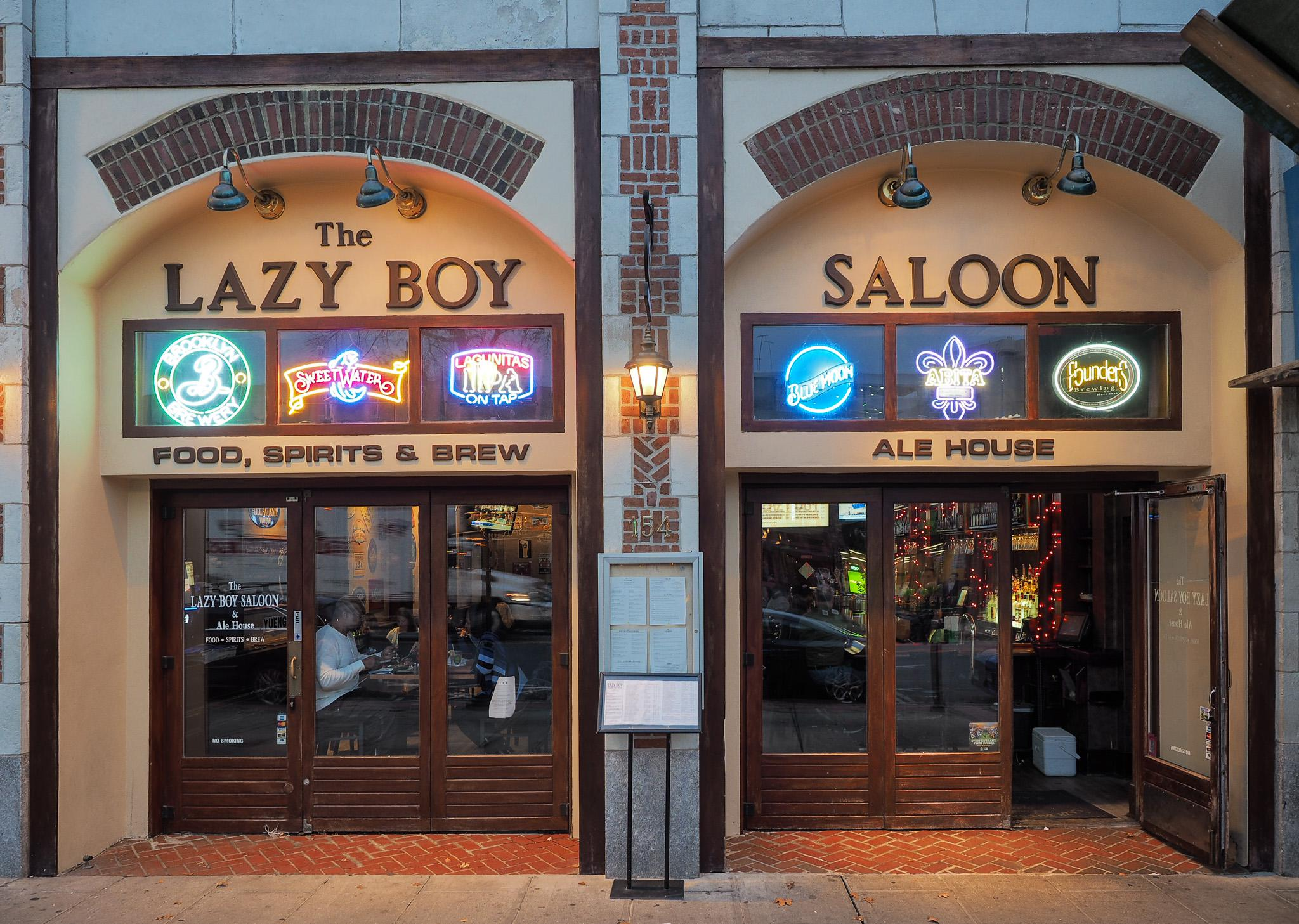 lazy boy saloon