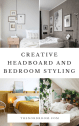 Creative Headboard And Bedroom Styling Ideas The Nordroom