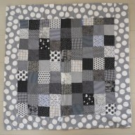 Shades of Grey Quilt — GAIL MONAGHAN