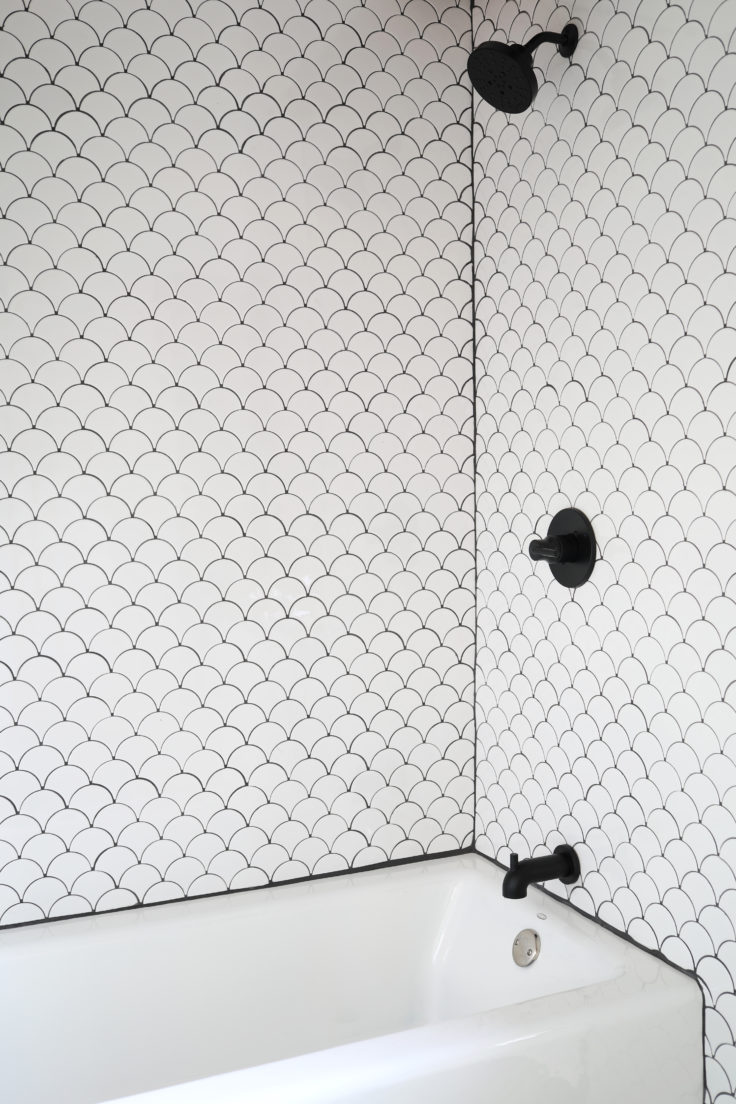 install a tiled shower surround