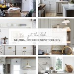 8 Great Neutral Cabinet Colors For Kitchens The Grit And