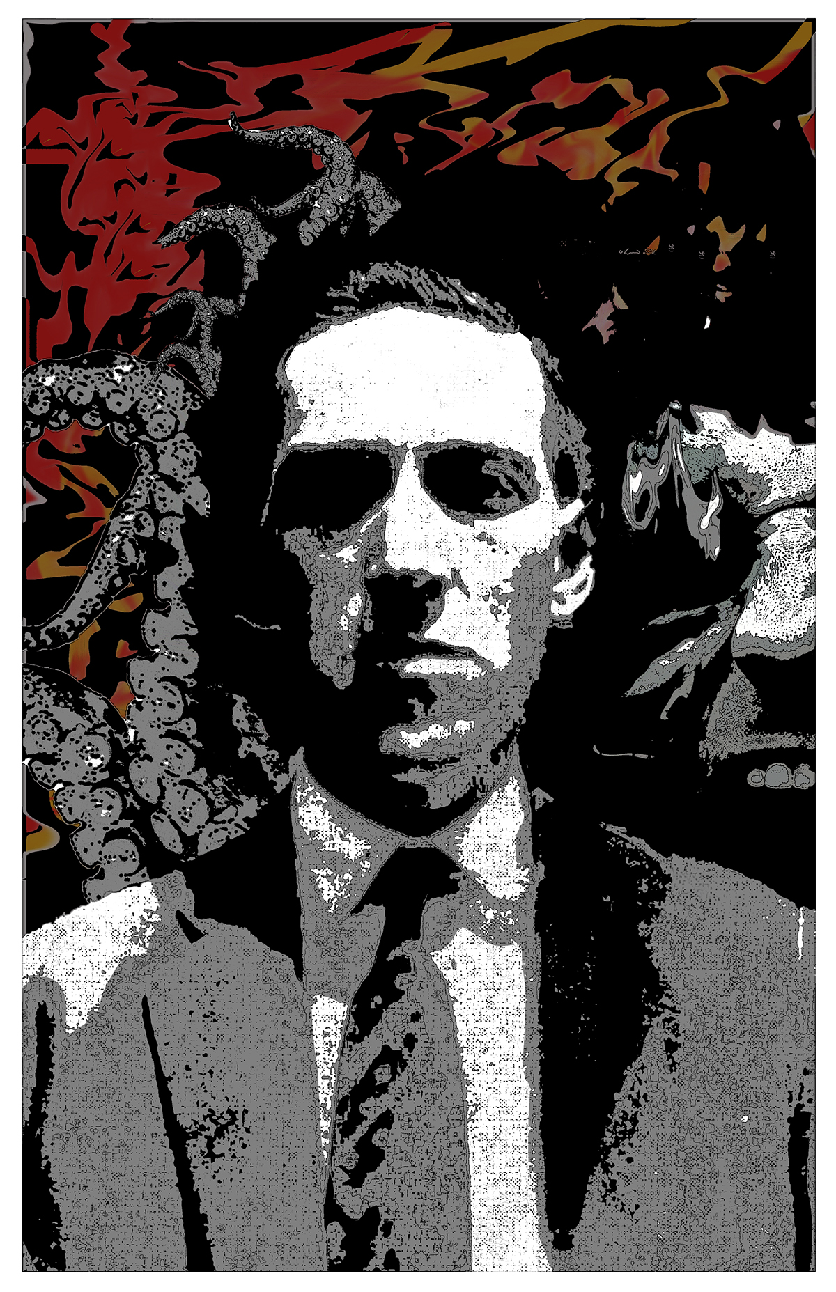 h p lovecraft illustration posters