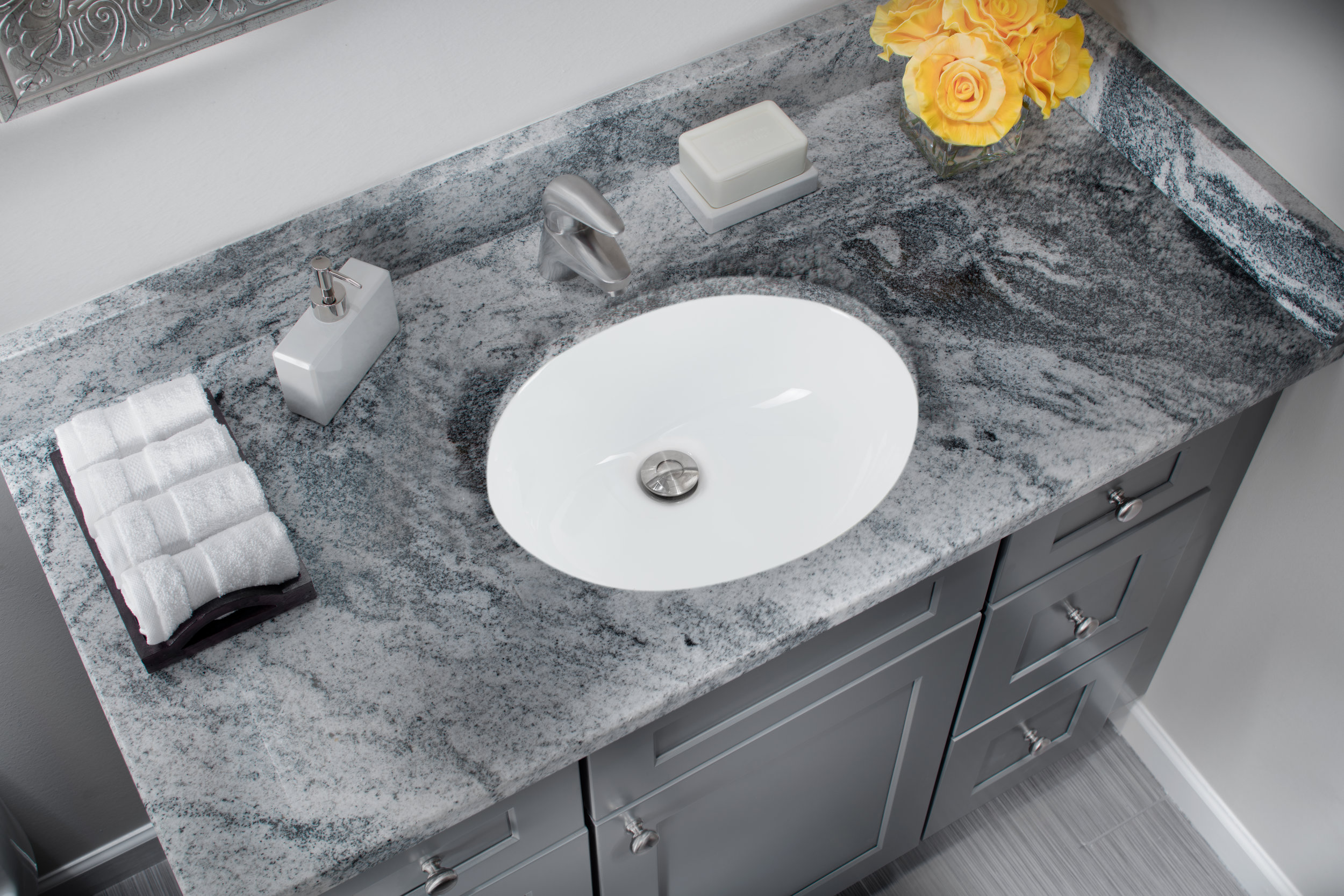 19 1 4 in glazed porcelain oval bathroom sink in white cahaba designs