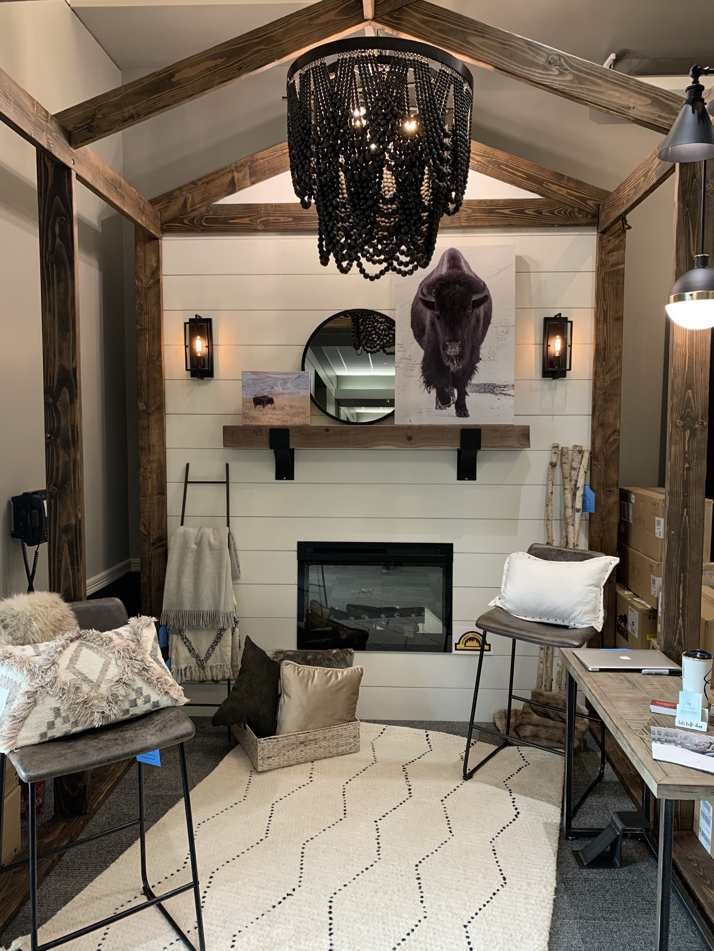 cozy rustic living room cozy home