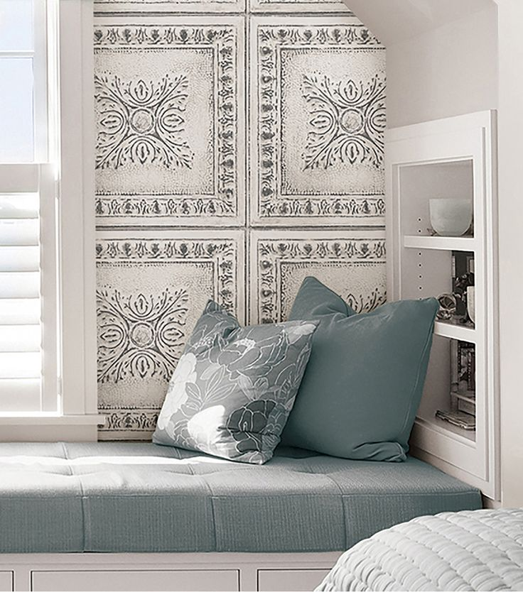 ideas for decorating with tin tiles