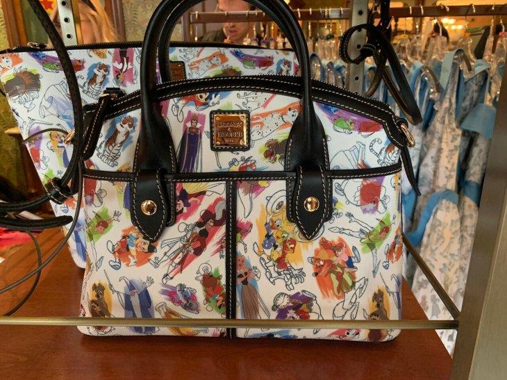 Disney Ink & Paint Satchel by Dooney & Bourke $268