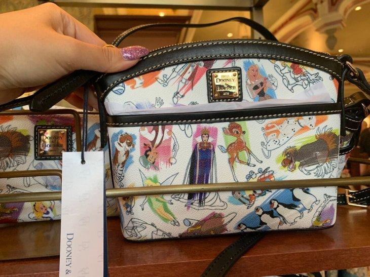 Disney Ink & Paint Crossbody Bag by Dooney & Bourke   $158.00