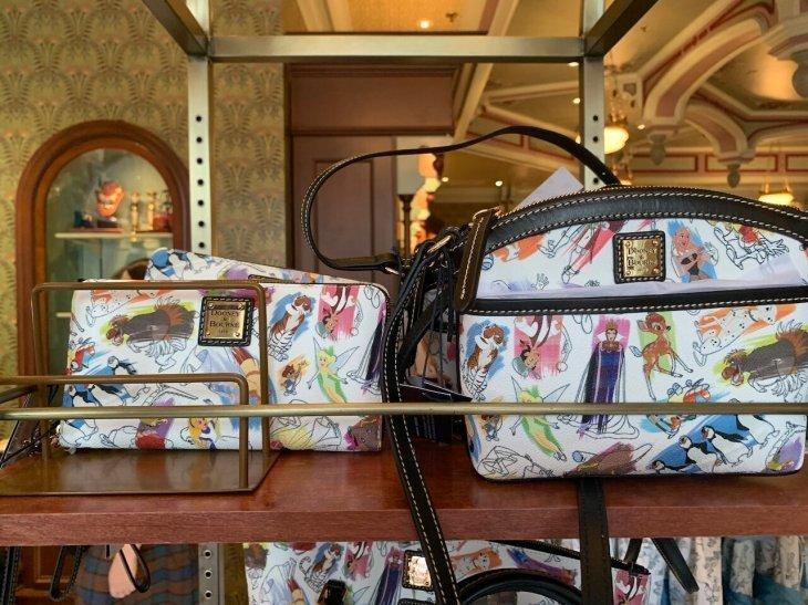 Disney Ink & Paint Wallet by Dooney & Bourke   $158.00