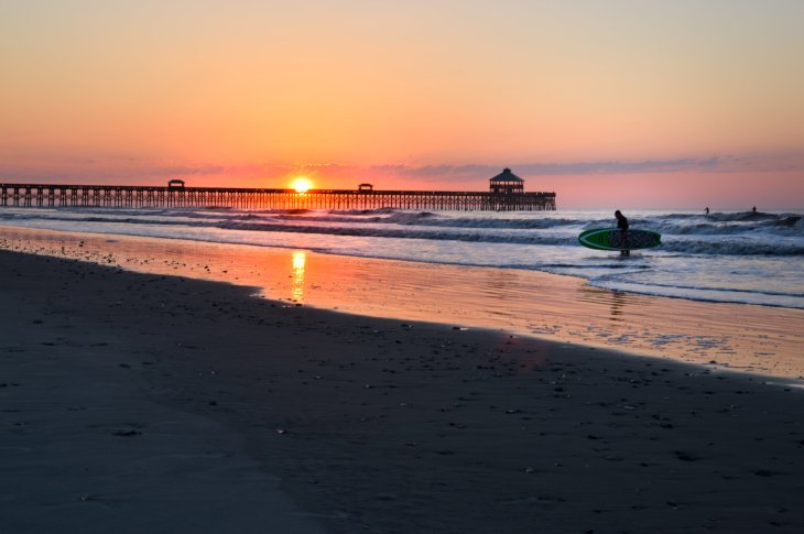 Sunrise, Folly Beach, S.C. (Meg LeDuc)