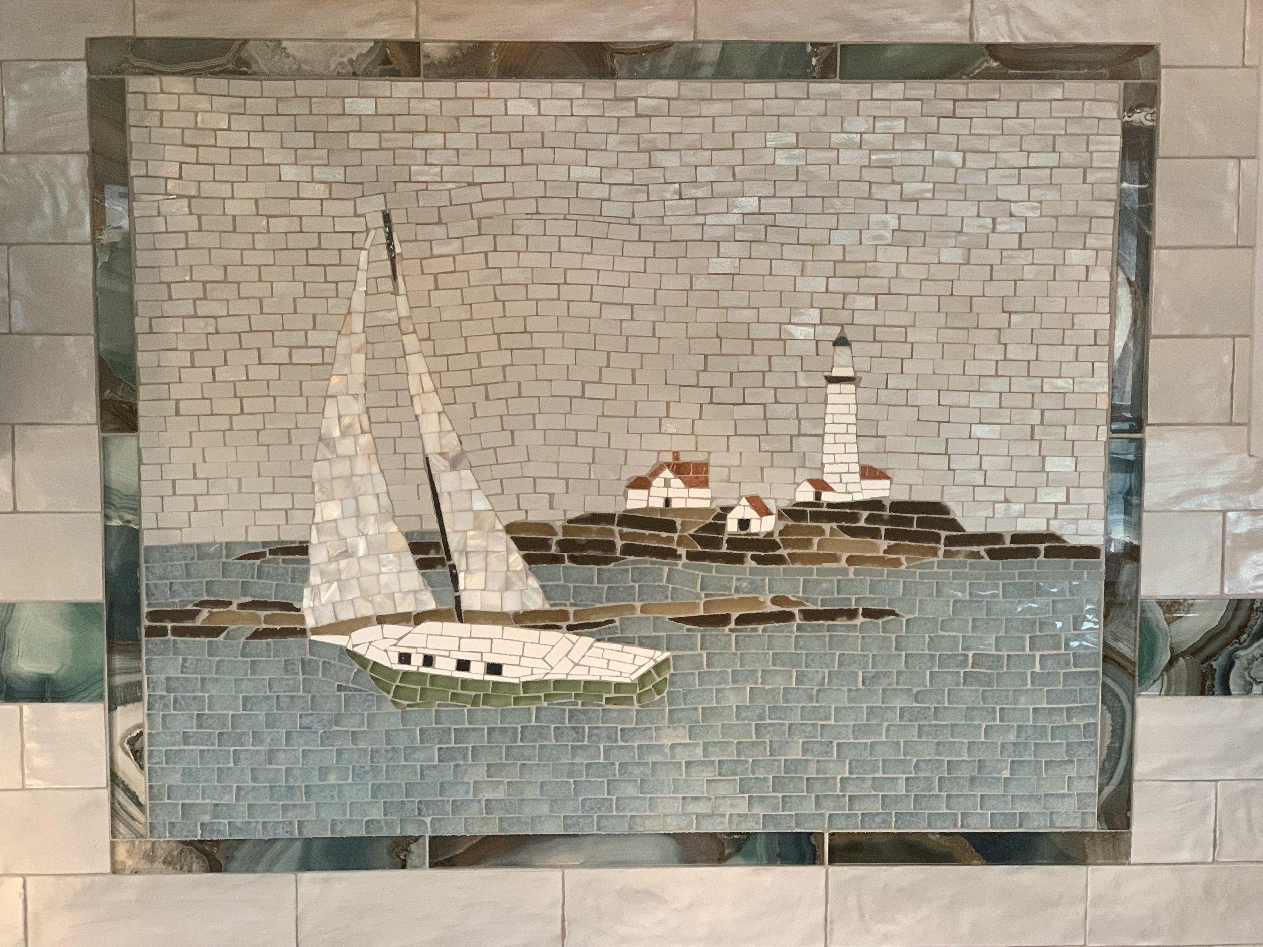 custom mosaic designs