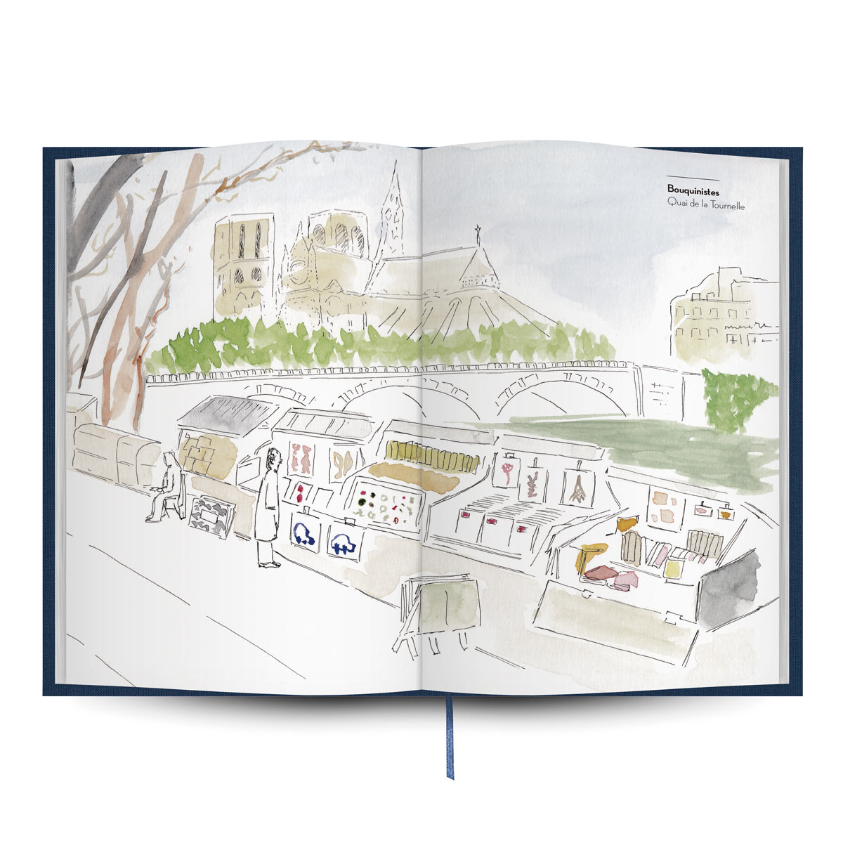 Libro de viajes a París de la editorial Tintablanca