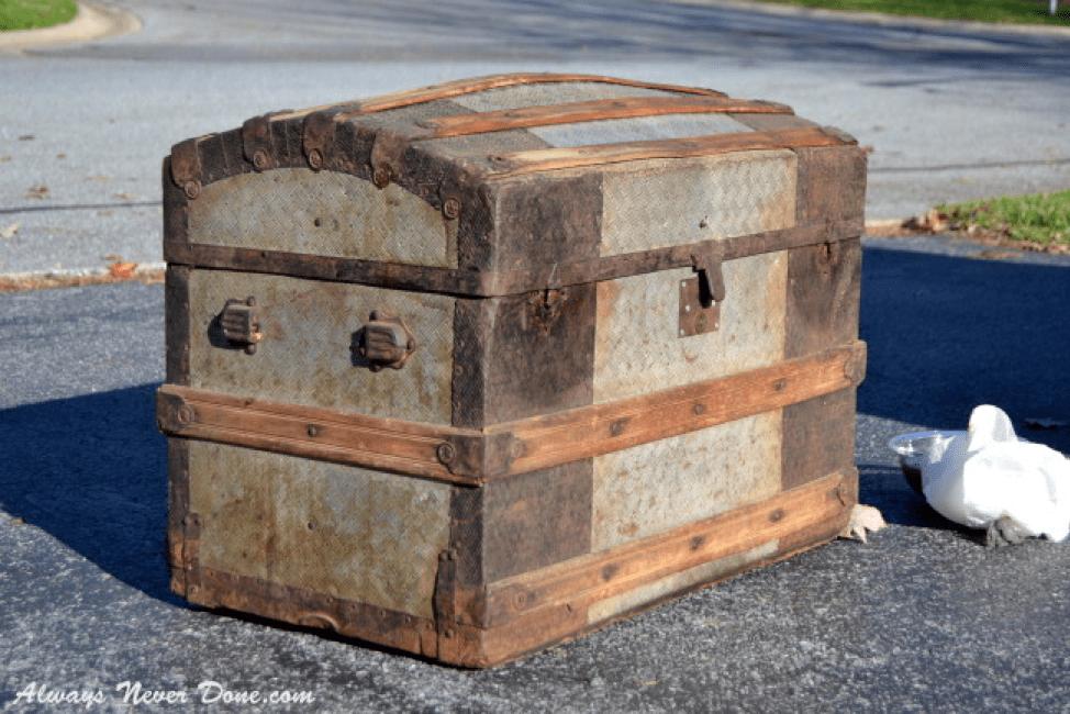 steamer trunk restoration always