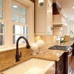 Choosing Backsplash Tile For Busy Granite Countertops Toni Schefer Design