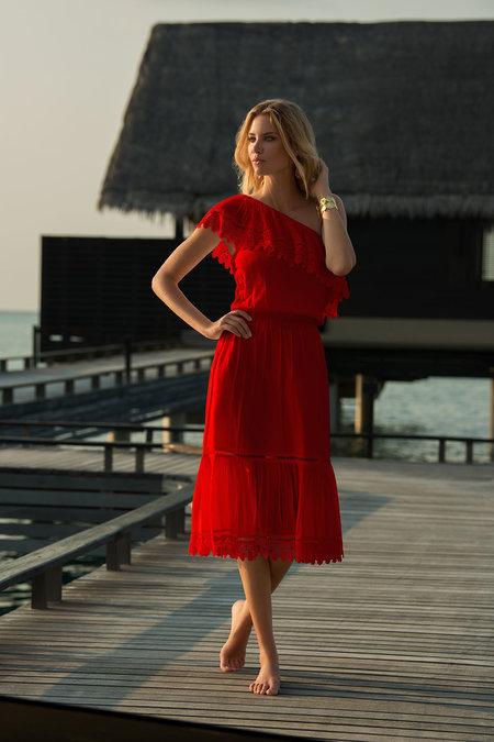 △ MELISSA ODABASH Jo One Shoulder Dress HK$1913
