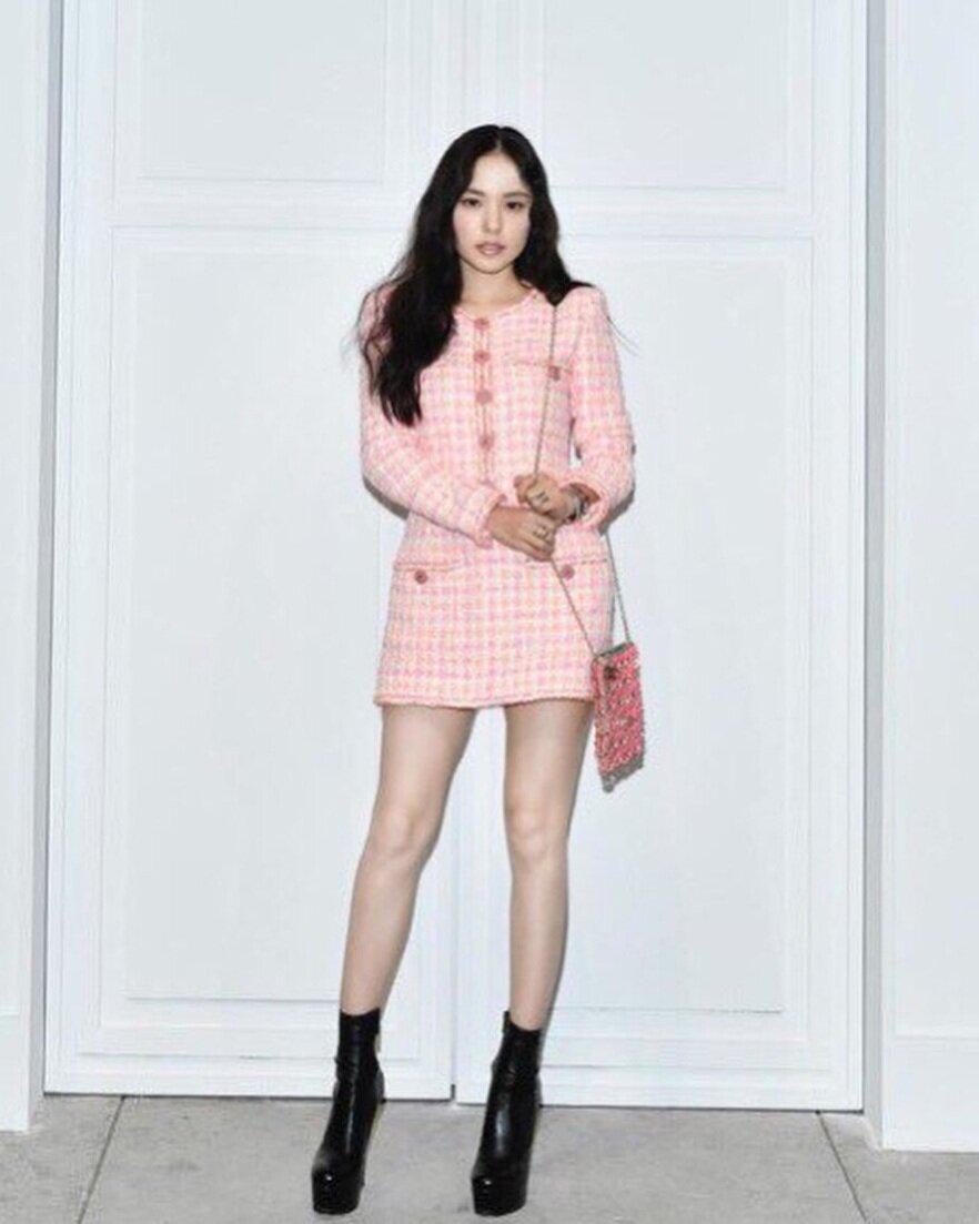33歲韓國女星閔孝琳 via Instagram@ hyorin_min