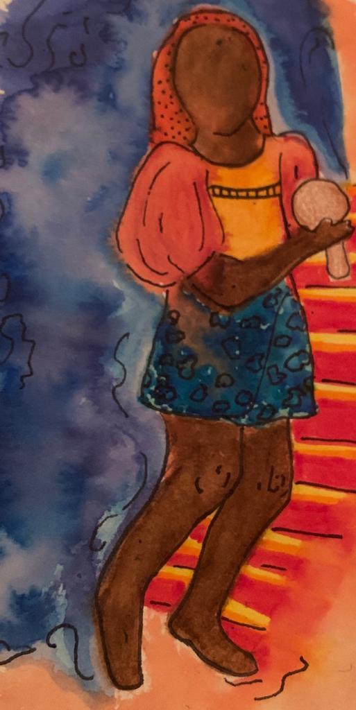 """""""..y en mi tiempos de niño, observar a mi abuelita Micaela ¡danzando! Celebraba con sus amigas los días de la alegría que casi les fue cercenada.. al amor, a los frutos por venir. """" ani ventocilla."""