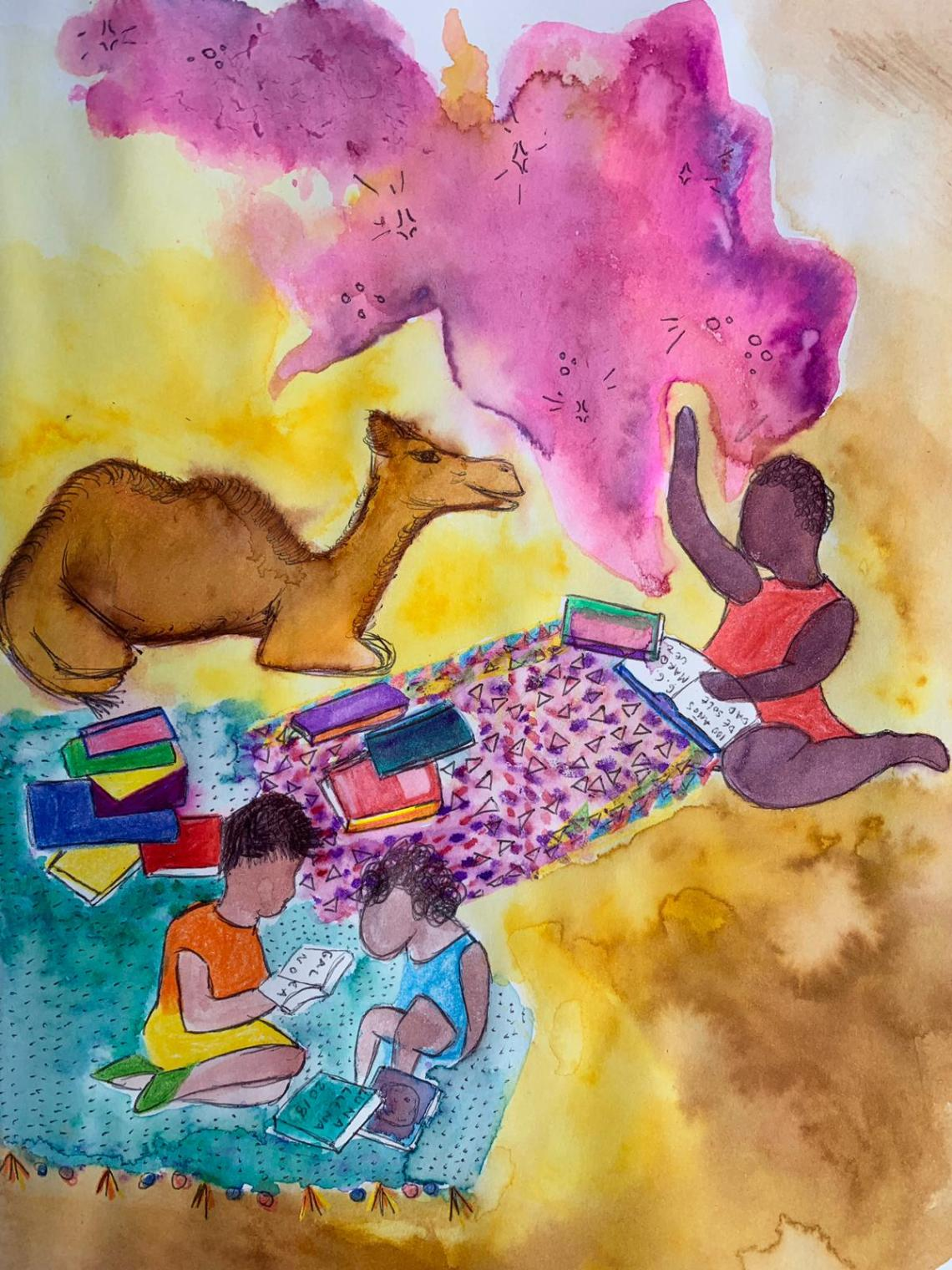 Ilustración de Ani M. Ventocilla King