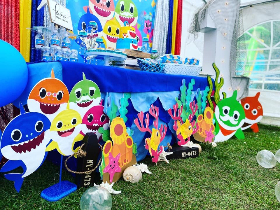 Best 1st Birthday Baby Shark Theme Party Lyfetymes Party