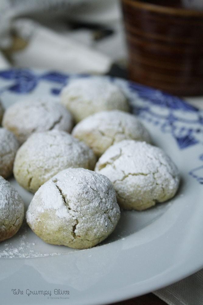 Almond & Pistachio Cookies