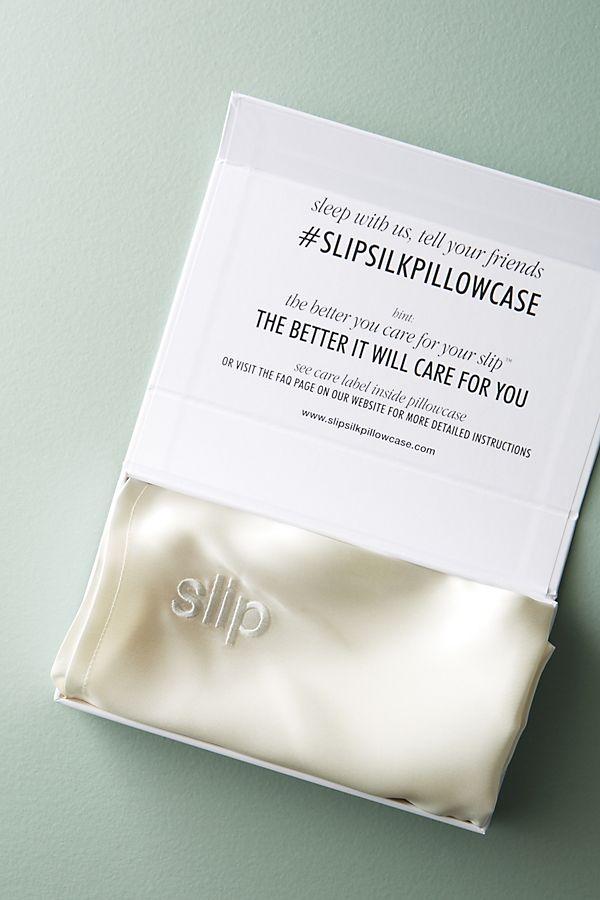- SLIP, Silk Pillowcase, here