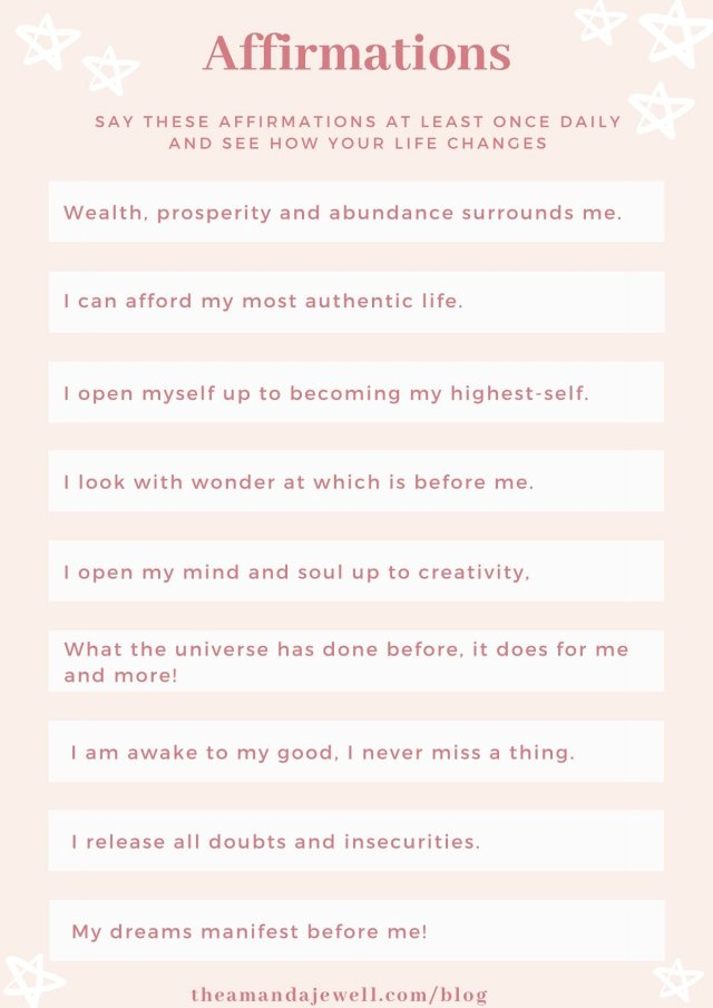 How To Journal for Manifestation — Amanda Jewell
