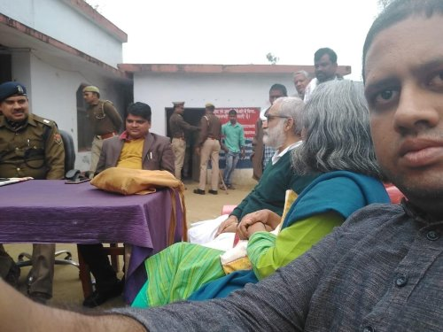 Sunita viswanath of hindus for human rights stopped from going to Ayodhya