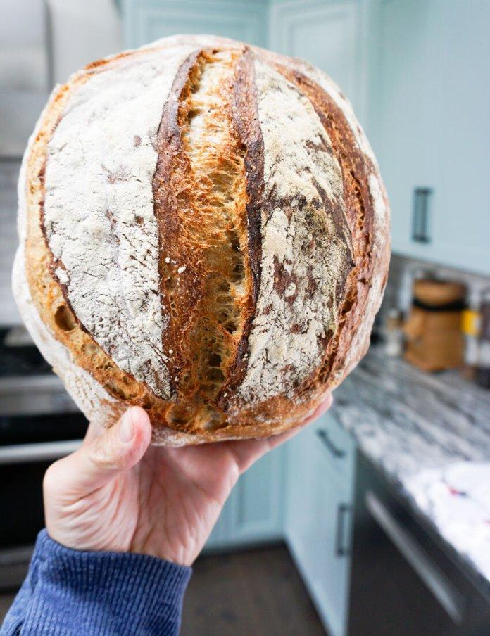 The Best Easiest Sourdough Bread Recipe Morrison Design House
