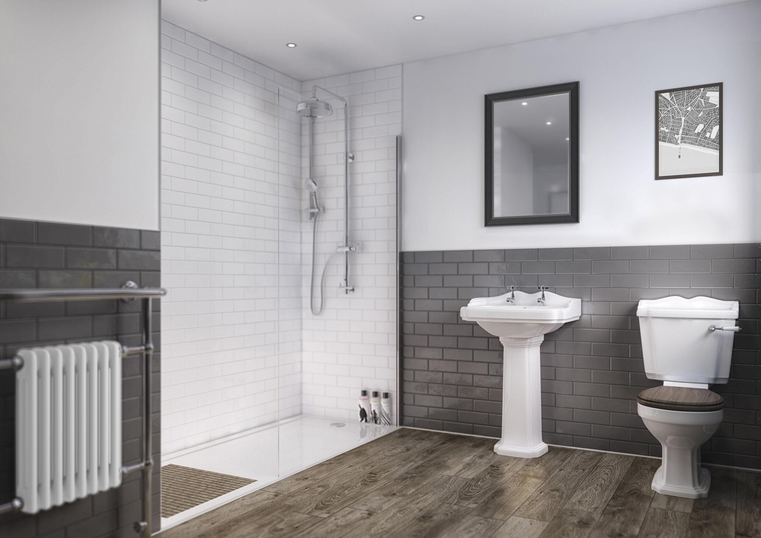 composite shower panels splashwall