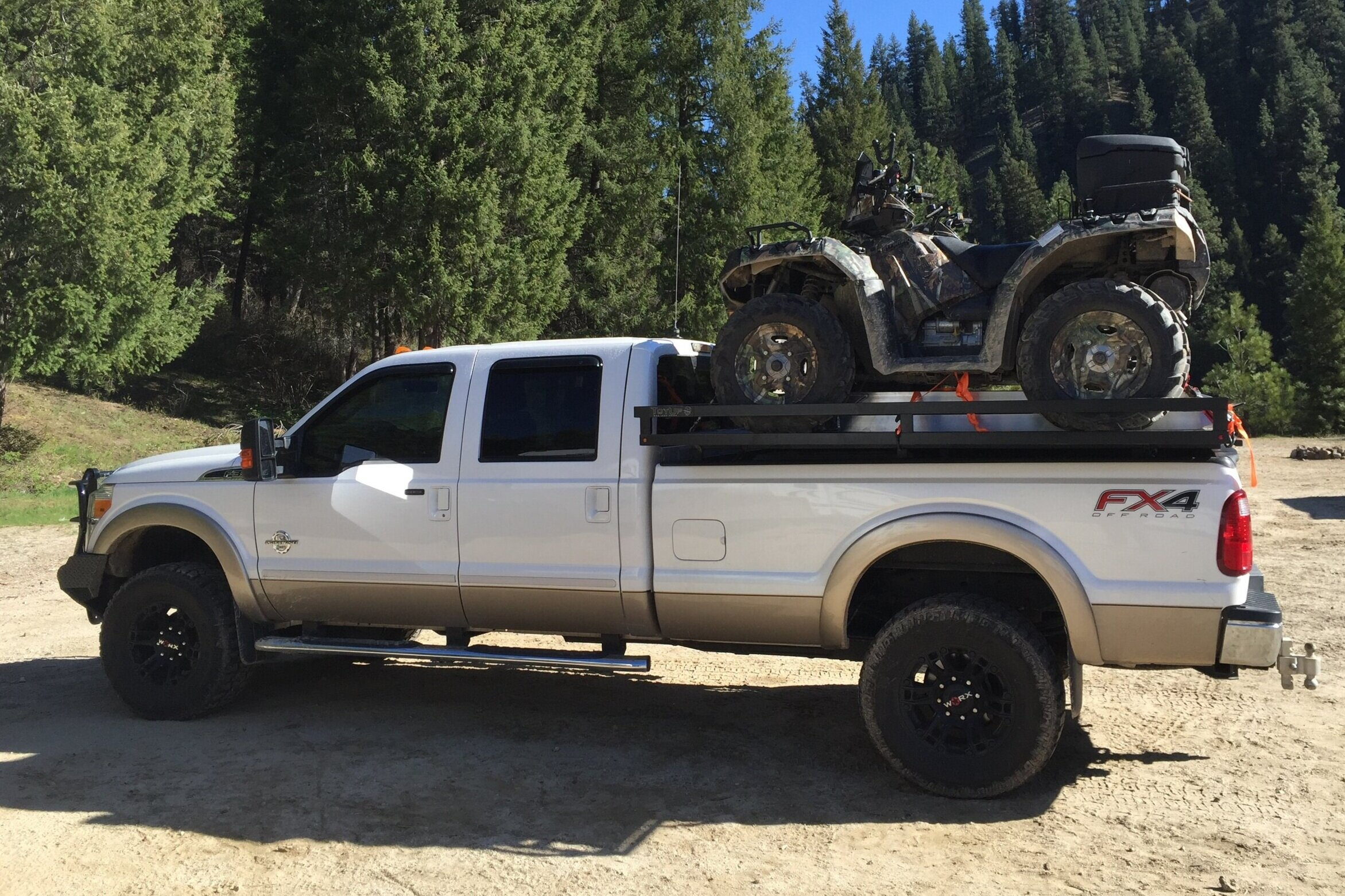 toyup truck decks sled deck utv deck