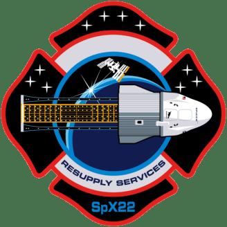 CRS-22 (SpX-22) mission patch