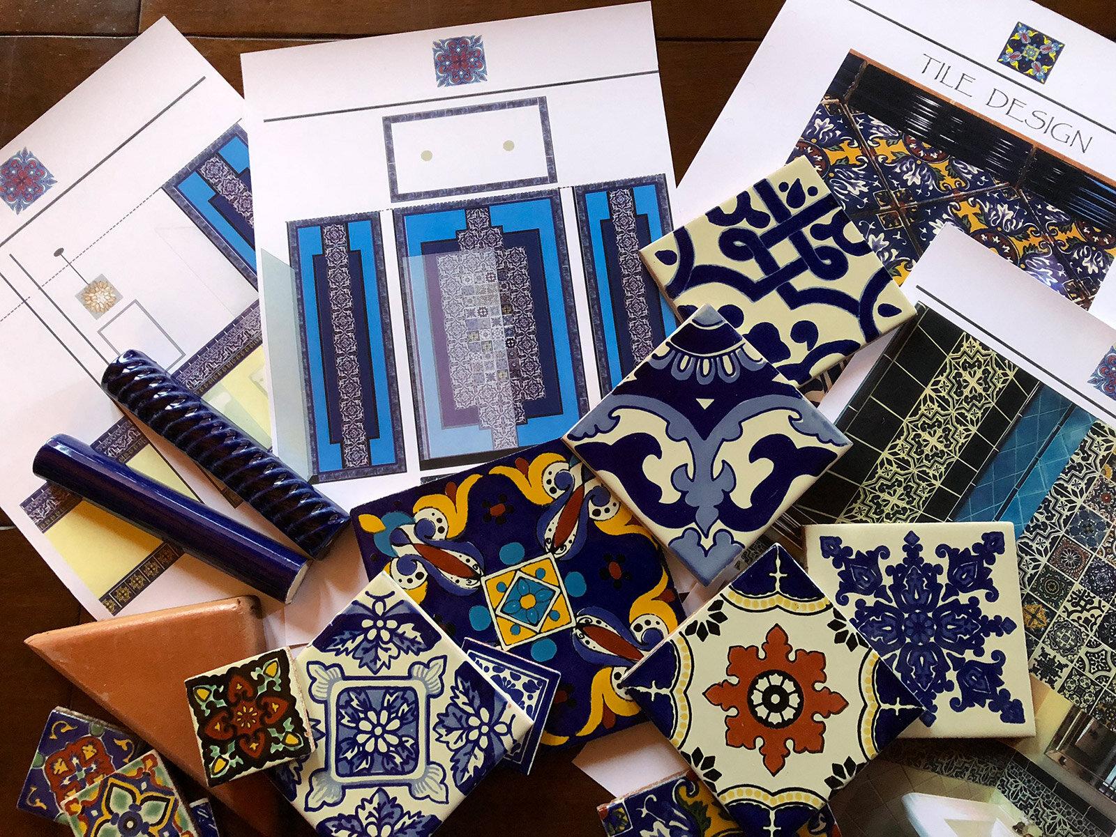 ceramic mexican tile design services