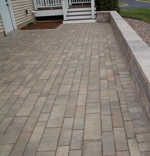quality installation of brick paver