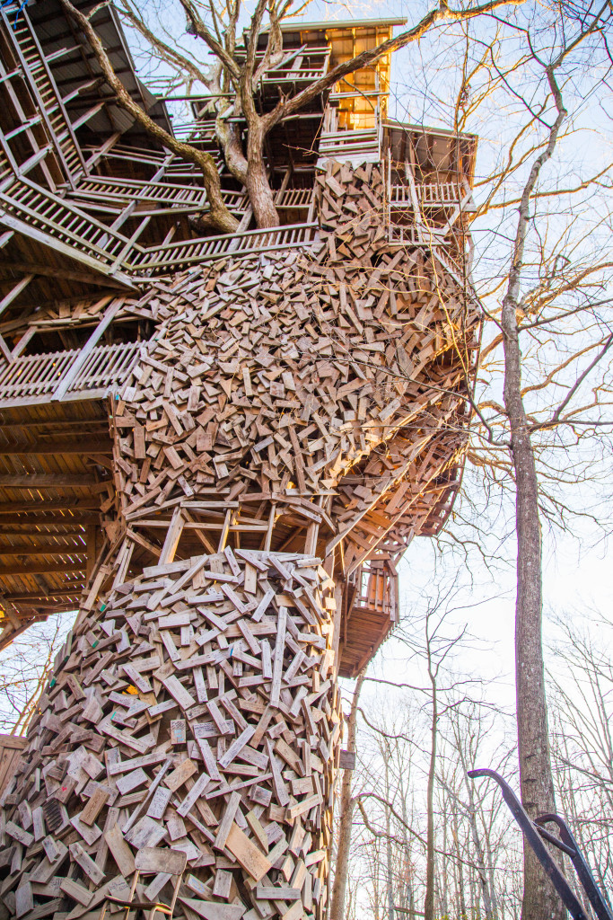The Largest Abandoned Treehouse In The World The Minister S Treehouse Mr Mrs Adventure
