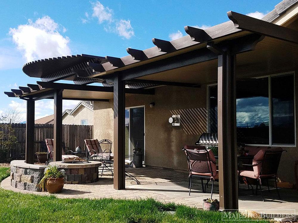 redding patio covers decks