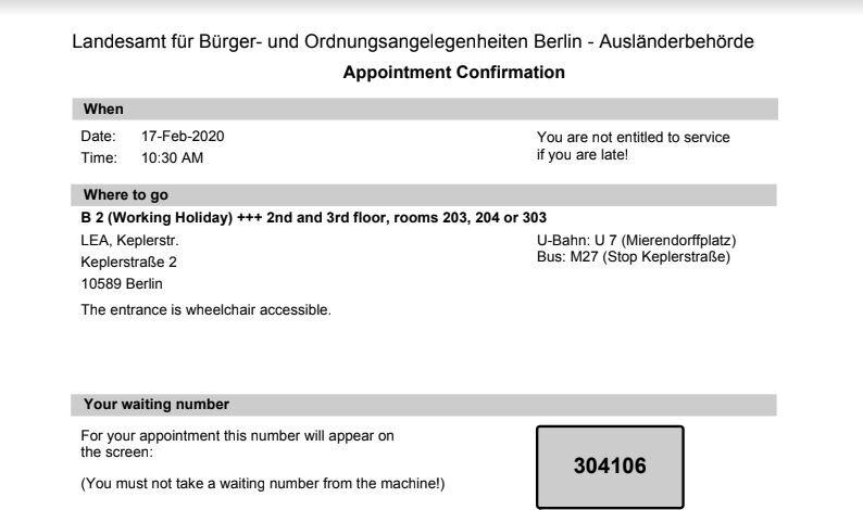 german language course visa