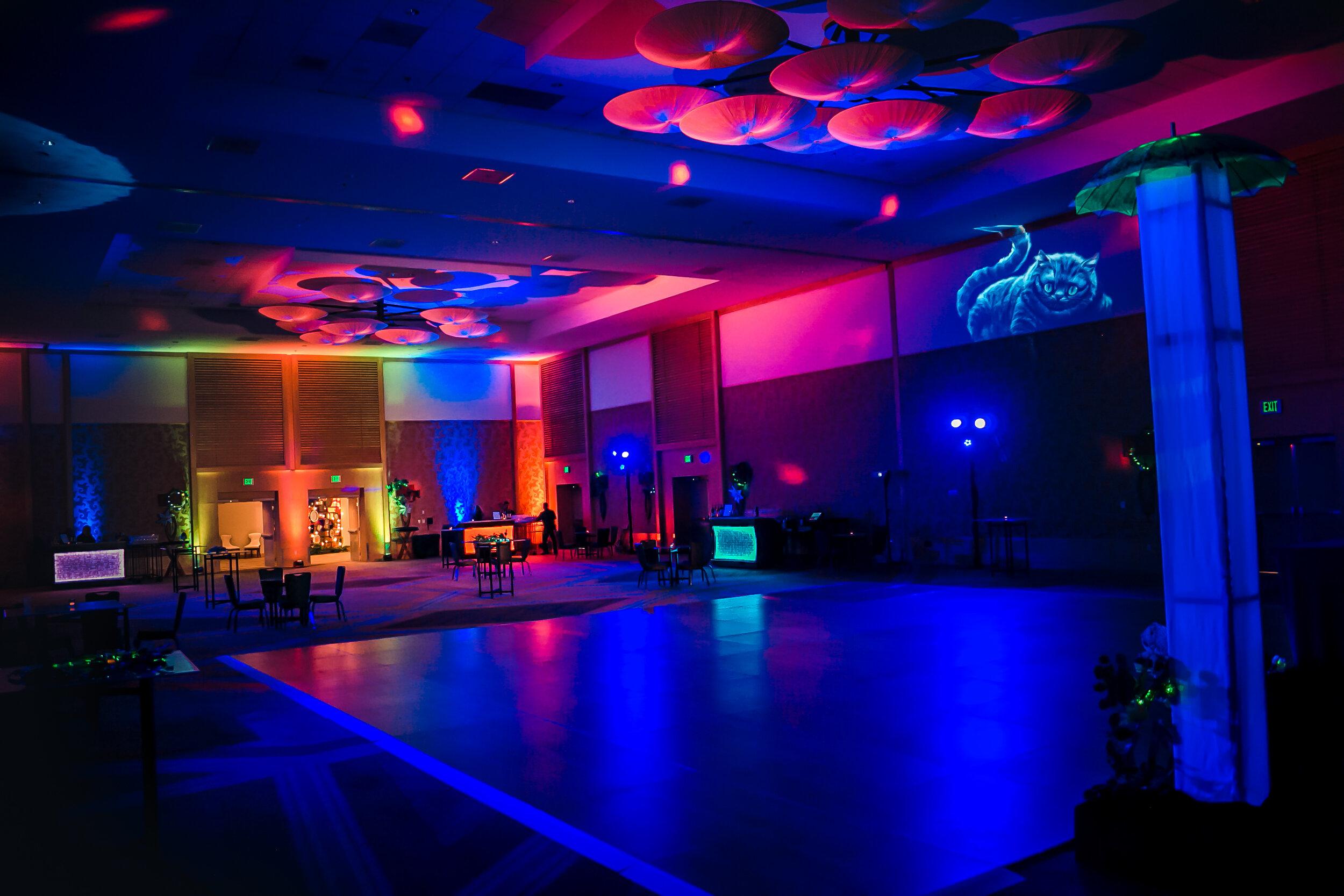 brilliant event lighting band