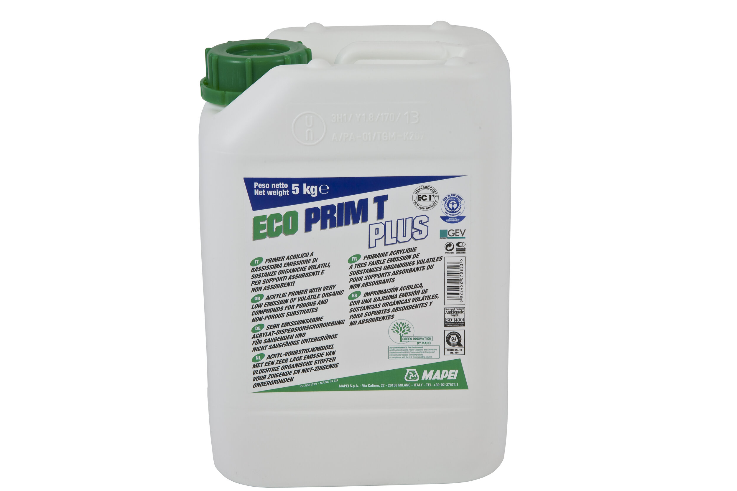 mapei primer and additives build18