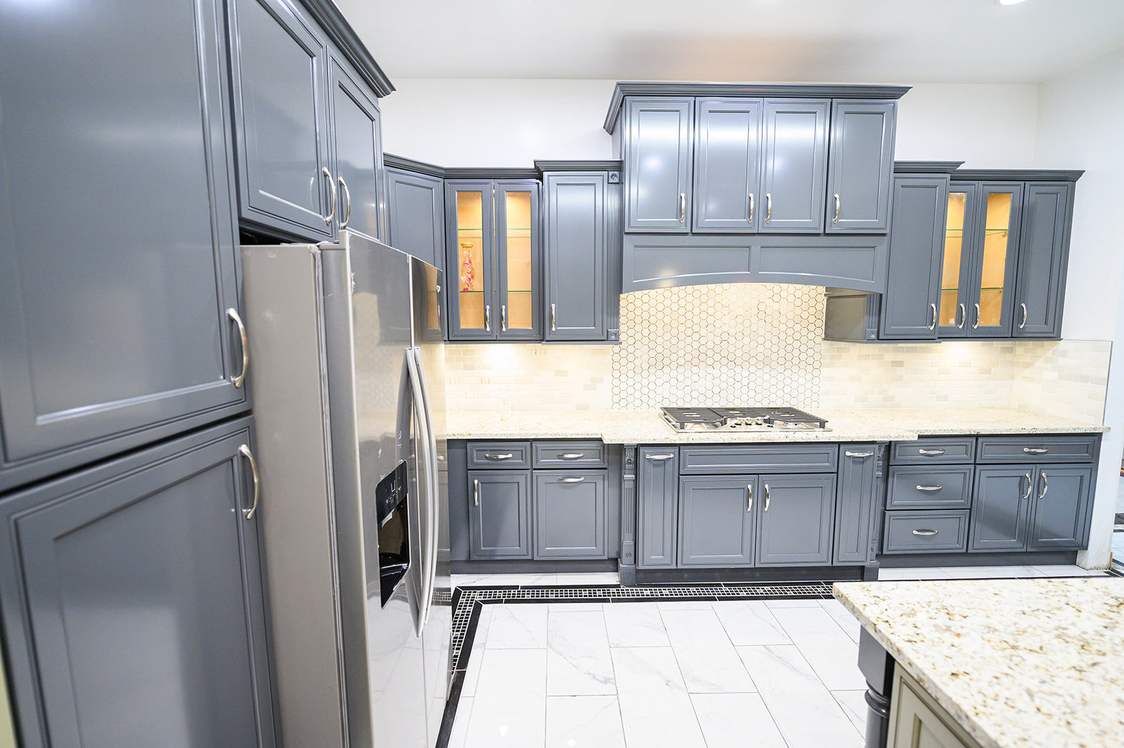 uni tile marble uni tile marble kitchen cabinet