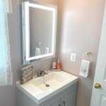 Diy Budget Remodel Tips From Our 300 Powder Room Project Thanhs Of Fun