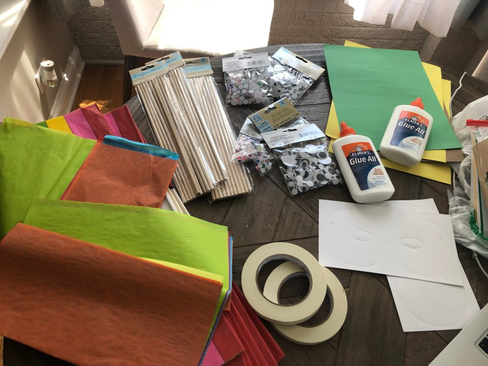 Thank you CAPE for all of the wonderful art supplies that you donated and put together for our students!