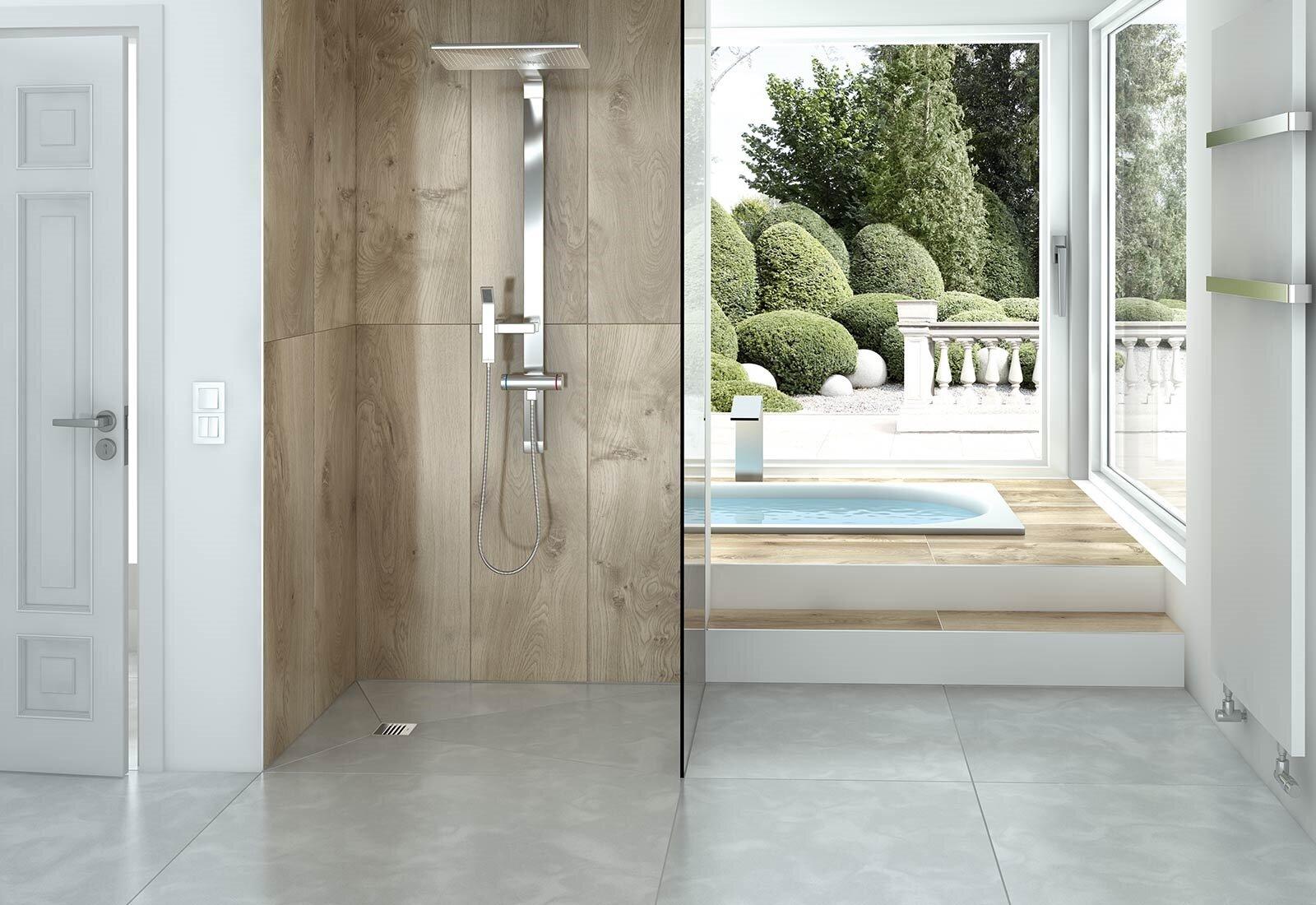 wedi 100 waterproof tile showers